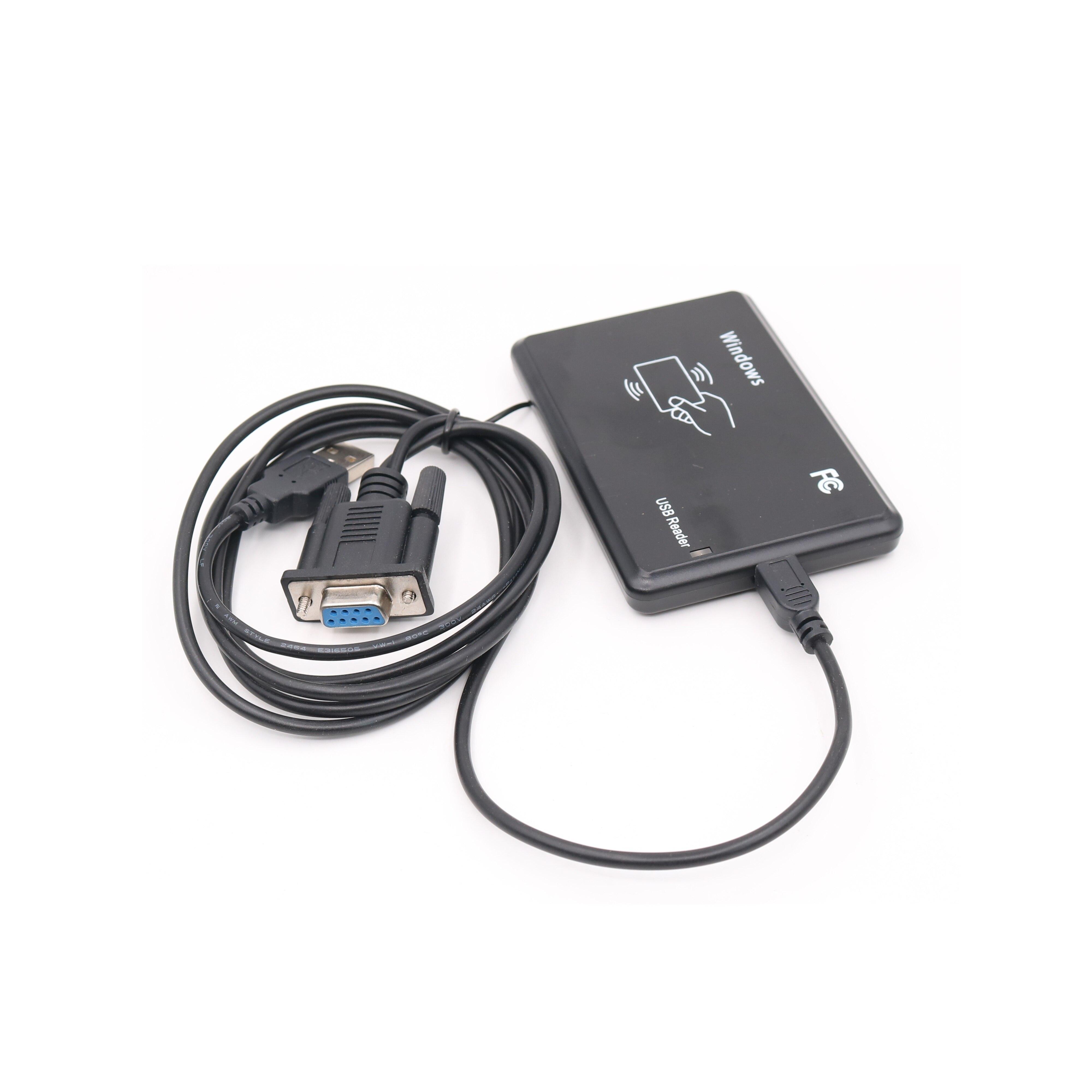 RS232 RFID 13,56 МГц IC считыватель ISO14443A S50 S70 кард-ридер последовательный порт