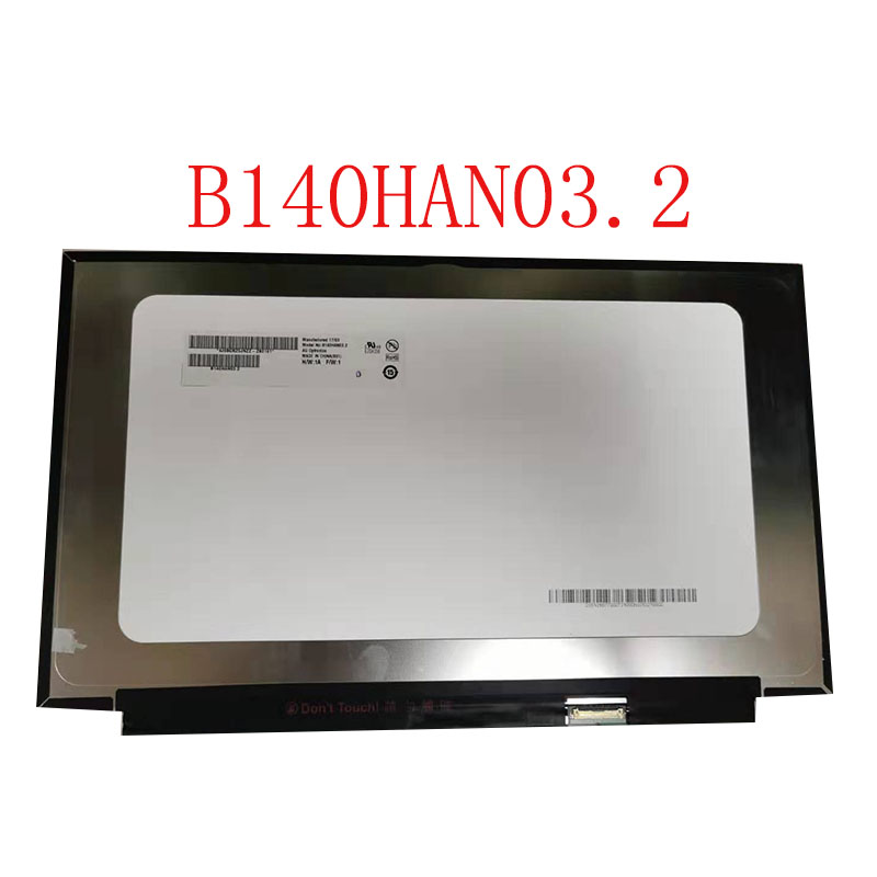 Genuine 14.0 Slim led screen B140HAN03.2 B140HAN03.1 For ThinkPad X1 Carbon 2017 Laptop lcd display