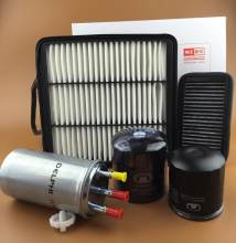KIT FILTRO V200 GWM PARA GREAT WALL WINGLE 5 6, EURO CORCEL 5 6, HAVAL H3 H5 H6, MOTOR DIESEL GW4D20 2.0, ANTES dos 2013 ANOS 1KIT/5 PCS(China)