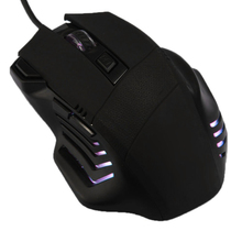 High Quality Black Optical Wired USB Gaming Mouse Mice 7D Buttons 2400DPI For Laptop Desktop PC Computer Accessory
