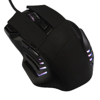 NOYOKERE High Quality Black Optical Wired USB Gaming Mouse Mice 7D Buttons 2400DPI For Laptop Desktop PC Computer Accessory