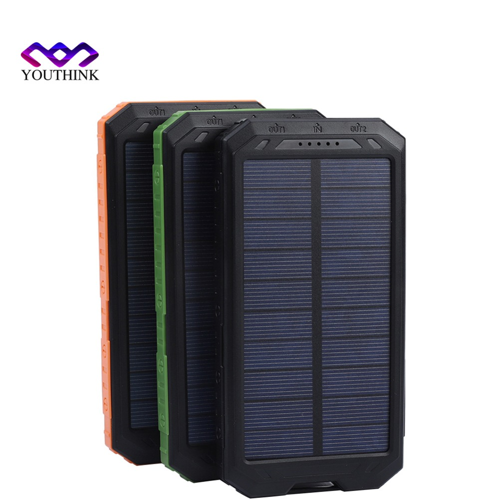not Included no Battery 2*706090 Solar Power Bank Case Portable External Battery Charger For Smart Phone Battery 2*606090
