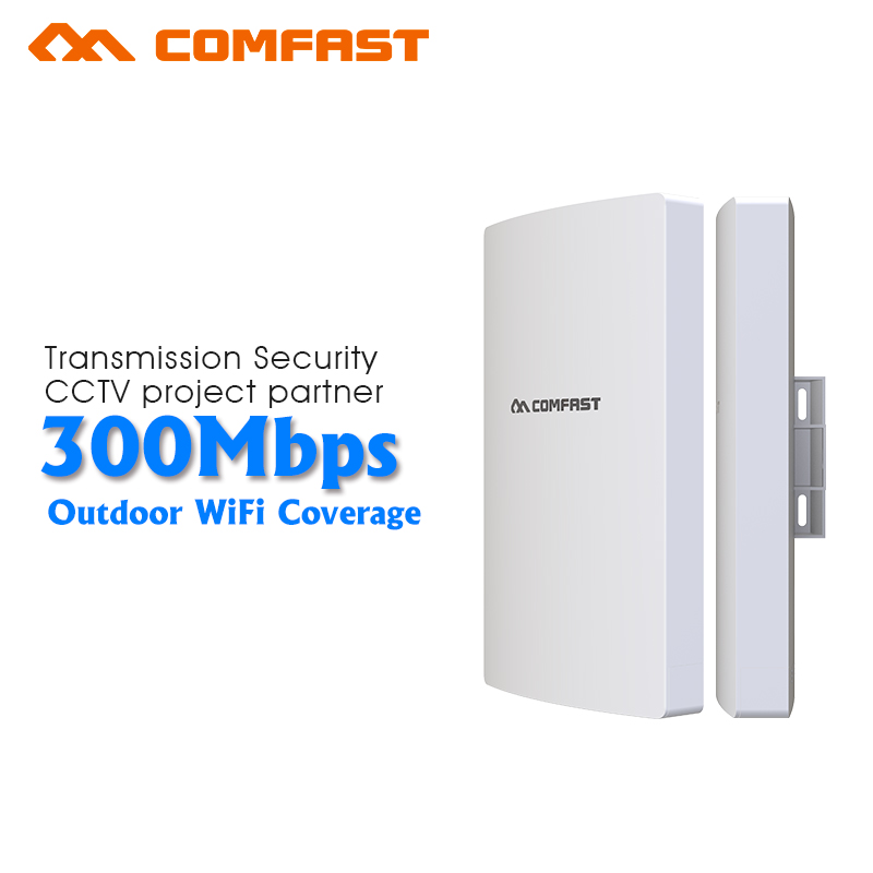 300Mbps Long Range Wireless outdoor Router AP Comfast QCA9531 13dBi Wi fi Outdoor Network Bridge Nanostation wifi CPE CF-E316NV3 comfast wireless outdoor router 5 8g 300mbps wifi signal booster amplifier network bridge antenna wi fi access point cf e312a
