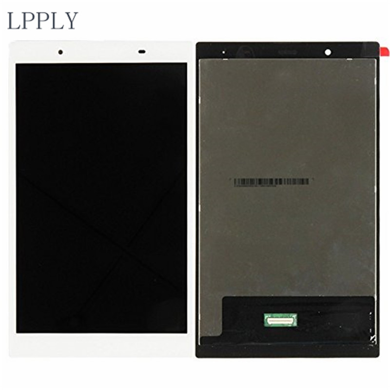 LPPLY 8 inch White/Black LCD assembly For Lenovo Tab4 8 / 8504 / TB-8504F / TB-8504X LCD Display Touch Screen Digitizer Glass 3d flooring marble rose lace 3d floor pvc self adhesive wallpaper 3d floor painting wallpaper