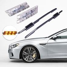 цена на 2pcs Fender LED Marker Light Turn Signal Lamp For BMW 1 3 5 Series E81 E82 E87 E88 F30 E90 E91 E92 E60 E61 E46 M3 Car Styling