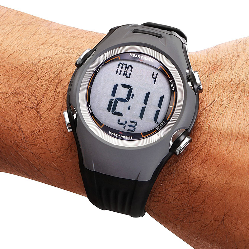 Men's Wireless Polar Watch Heart Rate Monitor 3