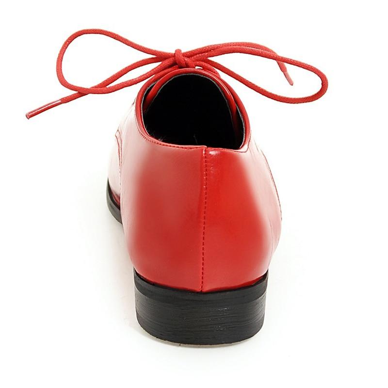 Femmes Chaussures Taille Pour Printemps up red Partie white Pzilae Femme Arrivée Dames Black 2019 Casual Dentelle Mode Nouvelle Grande De q15zdA