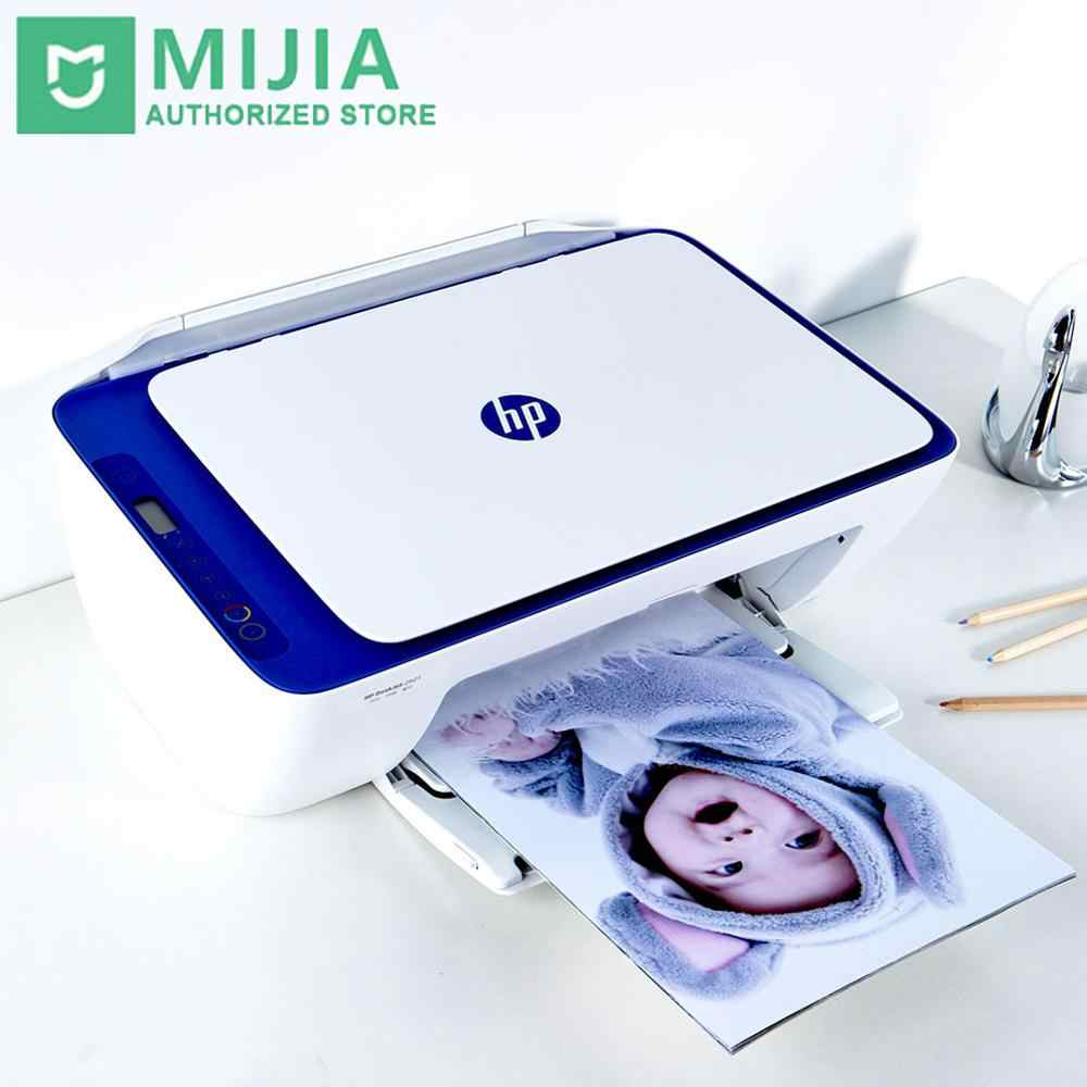 Xiaomi Mijia HP Deskjet 2621 Wifi Nirkabel Printer Scanner Copy 3 In 1 Multifungsi 120X1200 Dpi Aplikasi Pintar kontrol