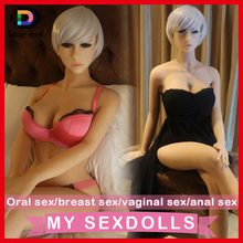 Hot Real 2015 lifelike japanese girl 165cm full silicone solid sex dolls istic life size oral love with skeleton