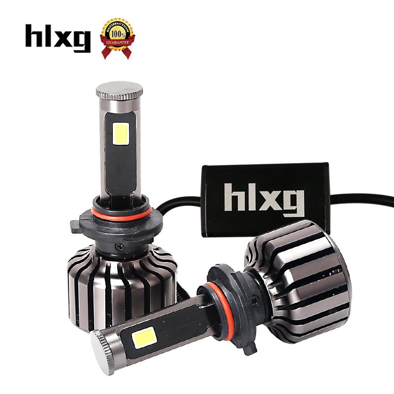 1Pair HB3 9005 LED Canbus Car Headlights 60W/Set 5000LM 6000K Auto Front Bulb All In One Automobiles Headlamp Bulb Kit Fog Light