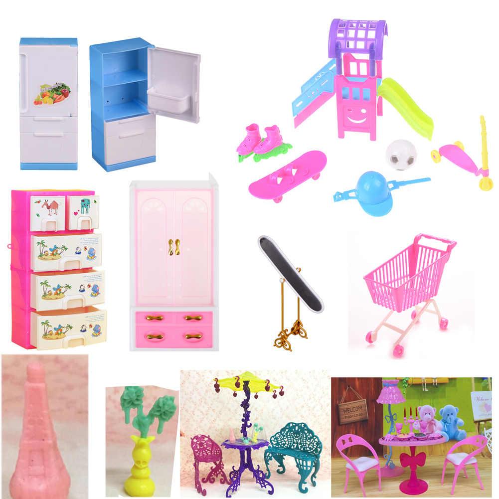 1 Pc Mini Sofa Spielen Spielzeug Blume Drucken Baby Spielzeug Plüsch Möbel Bett Stuhl Für Für Puppe Couch Puppe haus