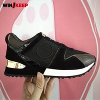 Women Running Shoes Outdoor Athletic Ladies Sneakers Comfortable Breathable Sport Shoes Brand New Gym Shoes Lace Up Trainers