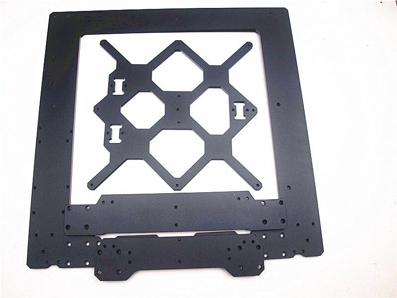 Funssor B Prusa i3 MK3 kit de cadre en alliage d'aluminium 6mm d'épaisseur Prusa i3 MK3 cadre