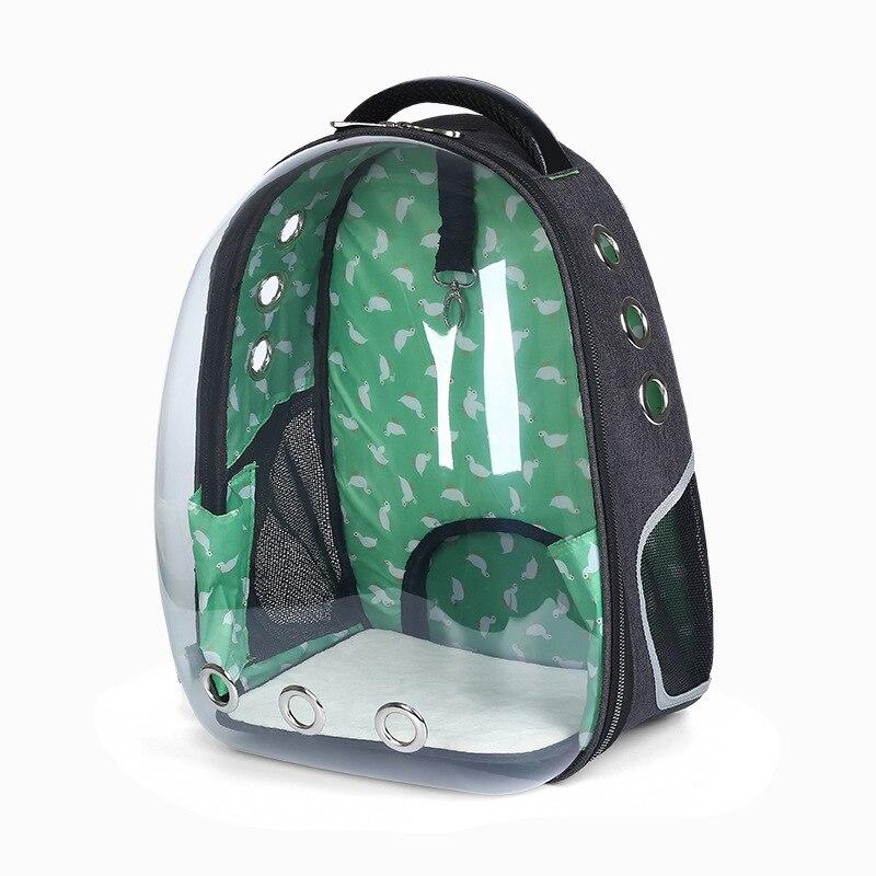 Panoramic Transparent Space Pet Backpack Dog Cat Portable Shoulder Pack Out Travel Bag Pet Supplies 33*28*44CM cat carrier