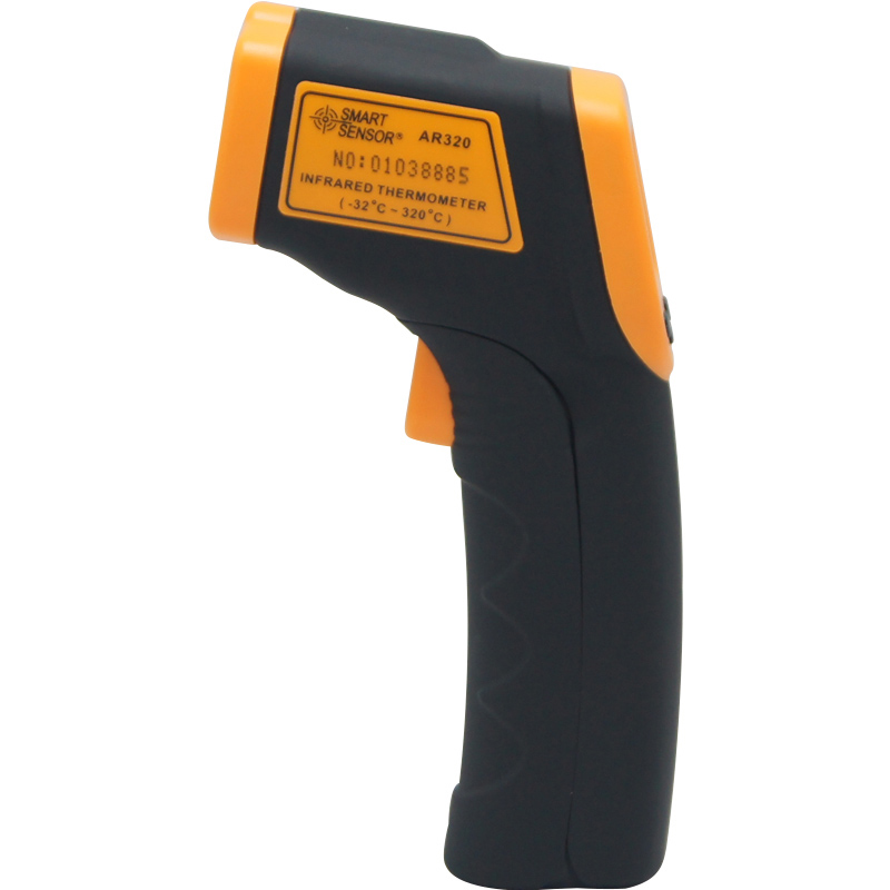 Digitales Infrarot-thermometer LDC IR Display AR320-32 ~ 320C (-26 ~ 608F) Berührungslose IR Laser-punkt-gewehr Pyrometer