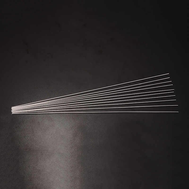 10 pcs Prata Liga de Alumínio Tig Soldagem de Enchimento Ferramentas Hastes 1.6 milímetros de Diâmetro 330 milímetros Comprimento Do Fio de Soldadura