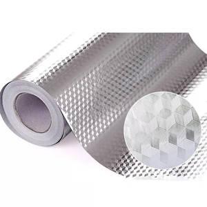 Oil-Proof Wallpaper Kitchen-Stove Cabinet Self-Adhesive Aluminum-Foil 40x100/200cm DIY