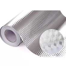 40x10 0/200cm pegatinas impermeables a prueba de aceite para cocina, papel de aluminio para cocina, armario autoadhesivo, adhesivo para pared, papel tapiz DIY