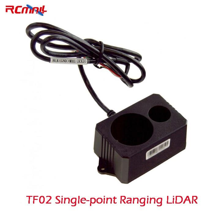 RCmall TF02 LIDAR LED Telemetro Singolo Punto Che Vanno IP65 22 m Benewake per Arduino Pixhawk Drone FZ3065
