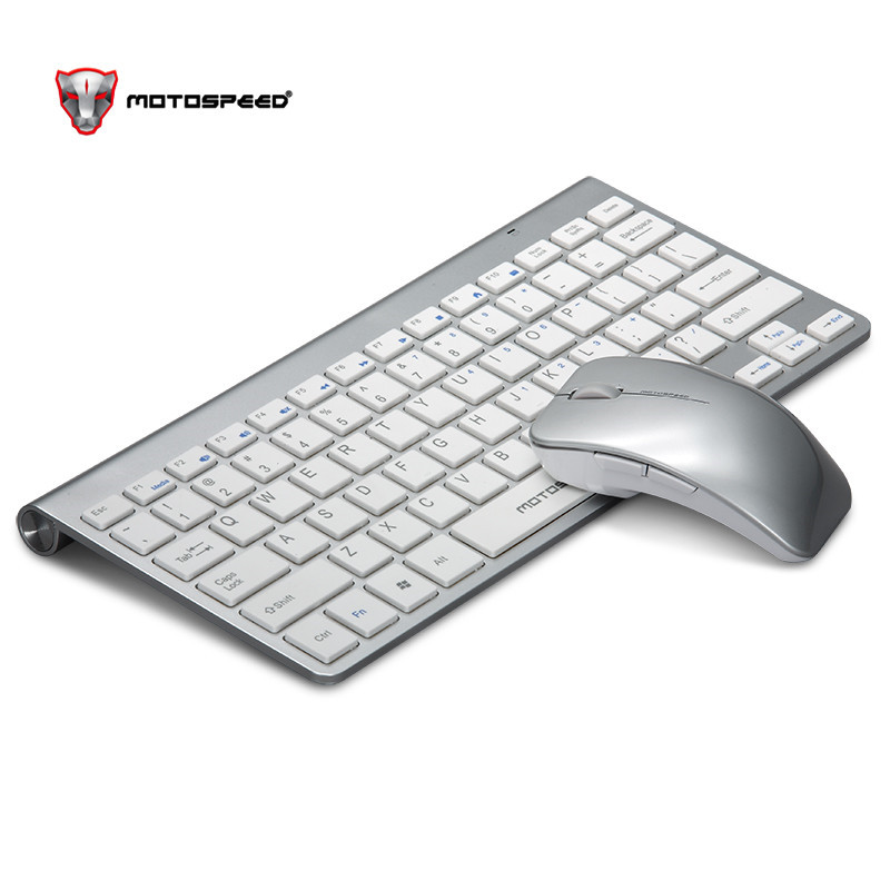Motospeed G9800 2.4G Wireless Keyboard for Mac Notebook Laptop TV  Mini Keyboard Mouse Set Office Supplies for IOS Android Win 7