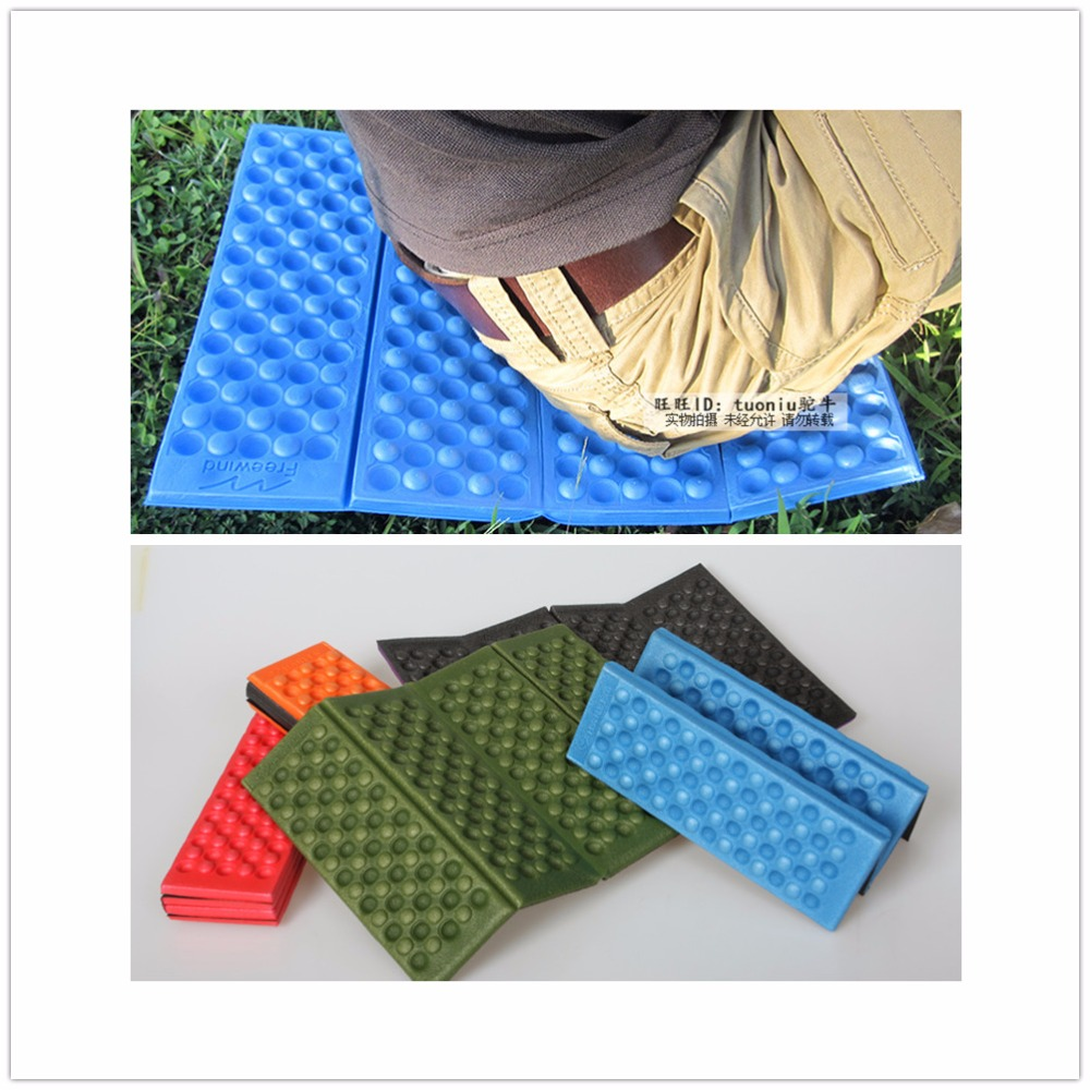 VILEAD 5 Colors Outdoor Folding XPE Waterproof Camping Mat Picnic Damp Proof Sitting Mat Cushion Foam Beach Mat Tourist Mat(China)