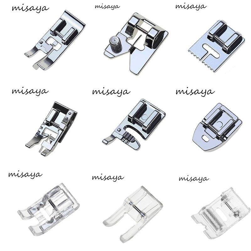 Piezas de coser Misaya 1 pieza prensatelas accesorios para
