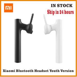 Image 1 - Bluetooth гарнитура Xiaomi Mini, беспроводная гарнитура с зарядным кабелем