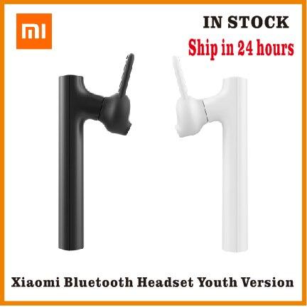 Bluetooth гарнитура Xiaomi Mini, беспроводная гарнитура с зарядным кабелем