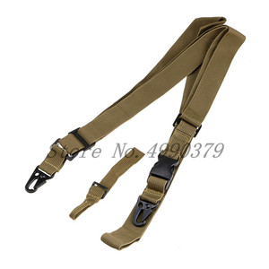 Image 5 - 3 Point Rifle Sling Regolabile Durable Tactical Attrezzature Bungee Sling Girelle di Caccia del Airsoft Pistola StrapNew Arrivo