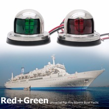 1 paia/2 pz Marine Arco In Acciaio Inox Luce di Navigazione A LED Luci Laterali 12 v Barca Yacht