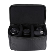 DSLR Partition Padded Camera Bag Insert Case Divider Waterproof built-in Insert SLR Camera Bag