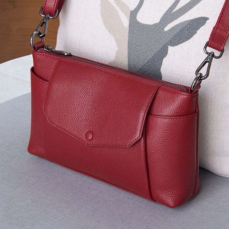 Small Ladies Shoulder Bags Women Luxury Handbags Female Totes Designer Genuine Leather Fashion Crossbody Messenger Bags bolsa women luxury brand design bags genuine leather handbags elegant style sheep skin crossbody bag fashion totes bolsa female