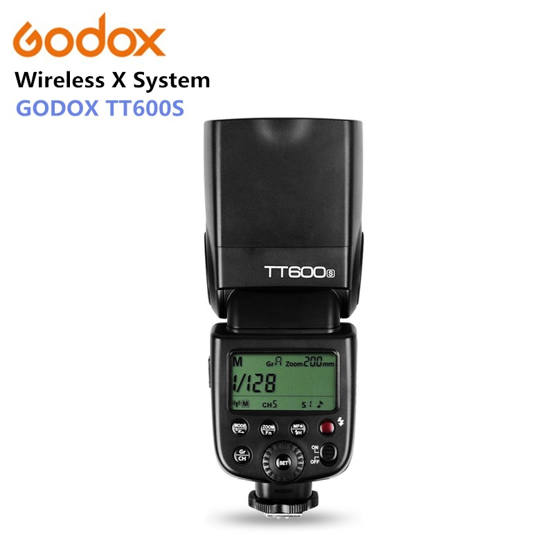 Godox TT600s 2.4G Wireless X System Camera Flash Speedlite Slave Camera Flash Light for Sony A7 A7S A7R A7 II A6000 A58 A99