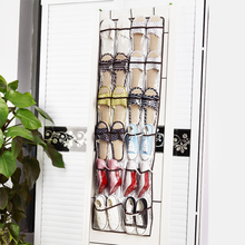 Hot Sales Free shipping 1pcs Over the Door Hanging Shoe Organizer Storage Bag For 22 Pairs Shoes Smart storage Solution