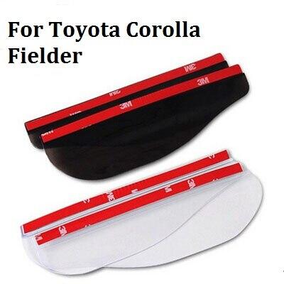 car styling For Toyota Corolla accessories 3D Car Rain Eyebrow Rearview mirror rain gear 2pcs/set HOT car styling