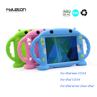 For Apple Ipad 2 3 4 Case 9 7inch Silicone Case For Ipad 1 2 3