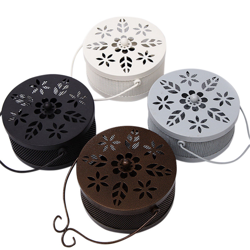 Permalink to Incense Burners Mosquito Coil Holder Retro Portable Mosquito Incense Burner for Home and Garden #3A09