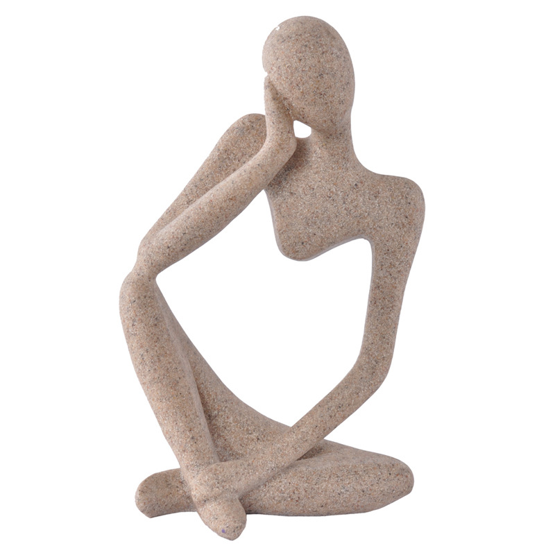 2016 New Sandstone Sculpture for Home Decoration Human Statue ...