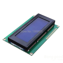 Free shipping! 10pcs/lot LCD Board 2004 20*4 LCD 20X4 5V blue screen LCD2004 display LCD module LCD 2004
