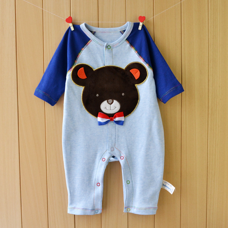 New Baby Clothes Long Sleeve Baby Romper Cotton Newborn Girl Boy Clothing Bear Dog One Piece Jumpsuit Roupas De Bebe