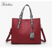 Mododiino Crocodile Leather Purse And Handbag Luxury Handbags Women Bag Designer Crossbody Bags for Shoulder DNV1105