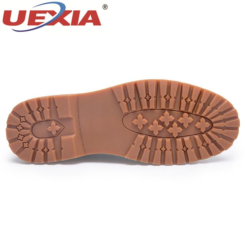 Chaussures Sur Mocassin brown Adulte Haute Hommes Sneakers En De Bateau Causalité Mâle Black khaki 2018 Glisser Mocassins Appartements Uexia Cuir Qualité qwg17T1