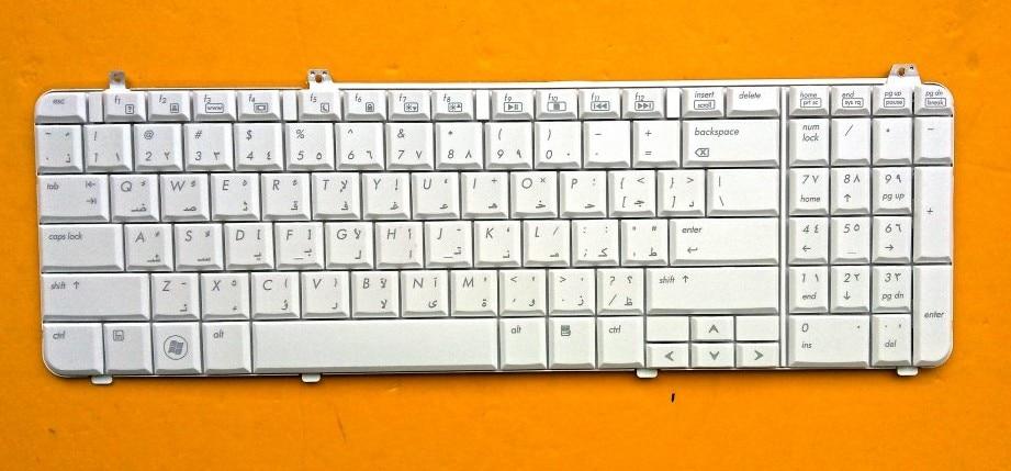 New notebook lapto keyboard for HP Pavilion dv6 dv6-1000 dv6-1100 dv6-1200 dv6-1300 dv6-1400 dv6-2000 dv6-2100 AR/ARABIC layout