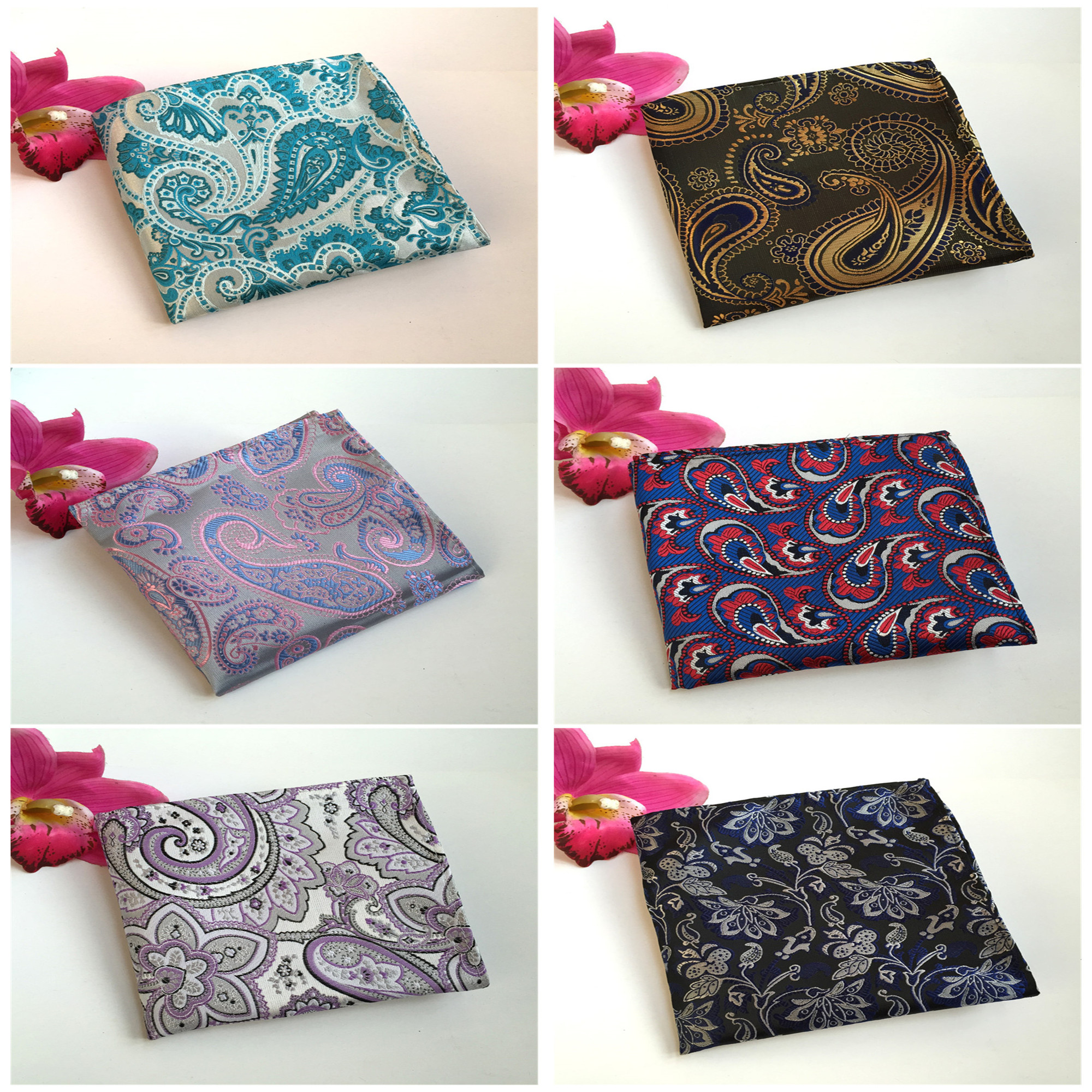 High Quality Explosions Simple Personality Decorative Pocket Towel 2020 Men's Business Polyester Handkerchief Pocket Towel