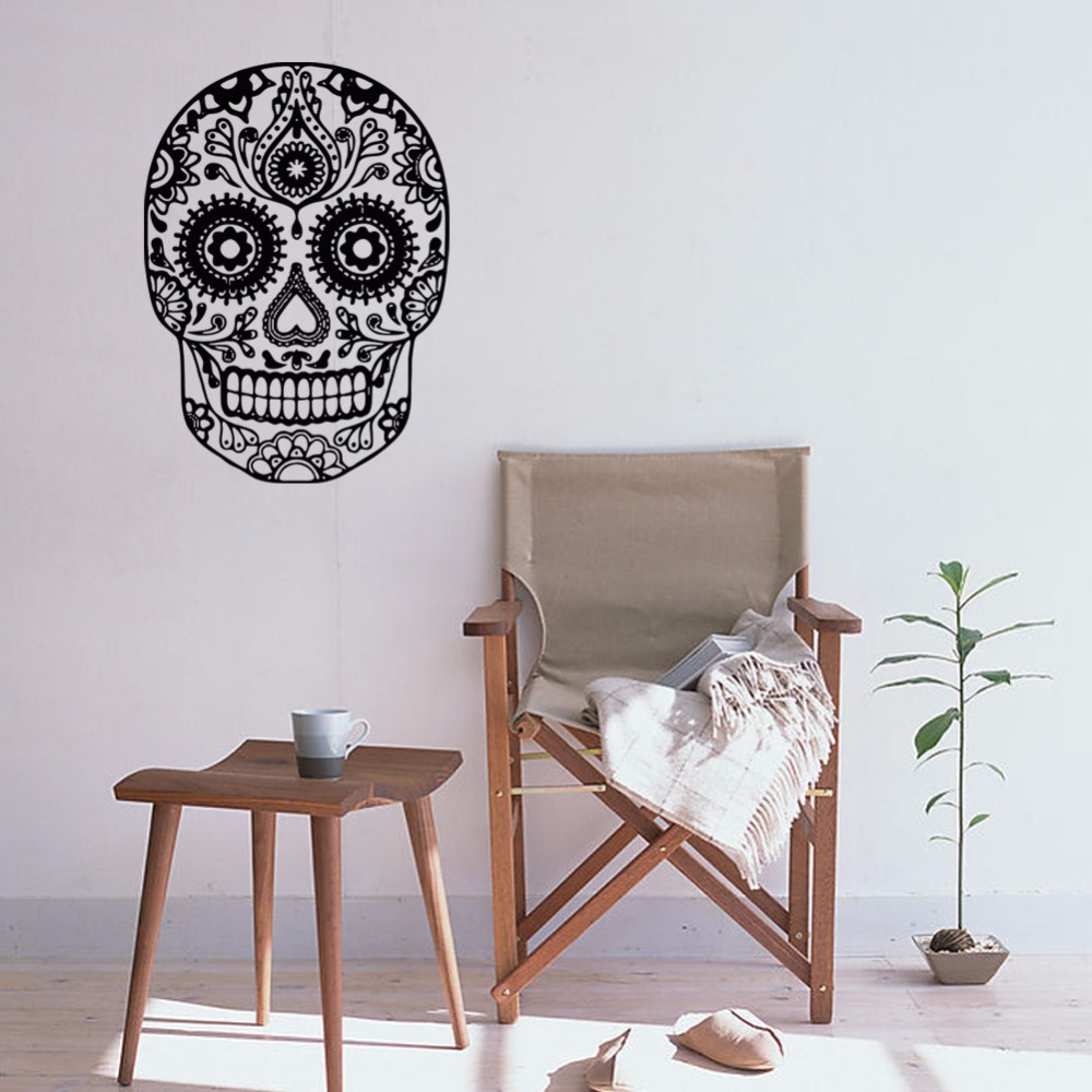 Home Decor Vendors: Aliexpress.com : Buy Creative Hallowmas Skull Wall