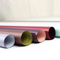 florist flower wrapping paper decoration Double Colors Gift Packing Plastic Film Waterproof Cellophane Free shipping