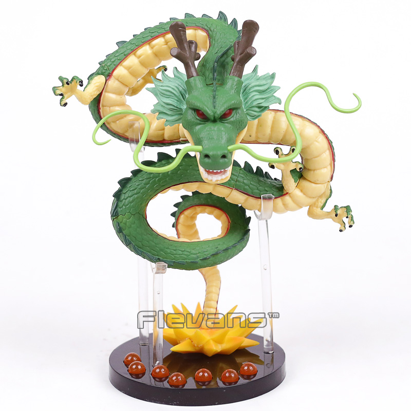aeProduct.getSubject()  NEW HOT!!! Dragon Ball Z The Dragon Shenron + Mountain Stand + 7 Crystal Balls PVC Figures Collectible Mannequin Toys HTB1TKmMacbI8KJjy1zdq6ze1VXaA