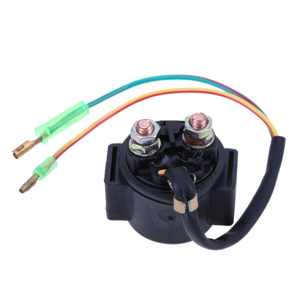 Motorcycle Starter Solenoid Relay 2 Wires For Fxd Cg Yamaha Xs360 Xs400 Xs400r Maxim Seca Heritage Xs50 Atv 70cc 110 150 250cc Aliexpress