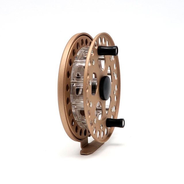 1pcs Aluminum Alloy Frame fly fishing reels with Large Arbor Fly ...
