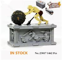23017 Genuine Technic Series The MOC Sisyphus Moving Set 1518 Building Blocks 1462pcs Bricks Toys Compatible With Bela
